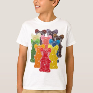 Funny Cute Gummy bear Herds T Shirts