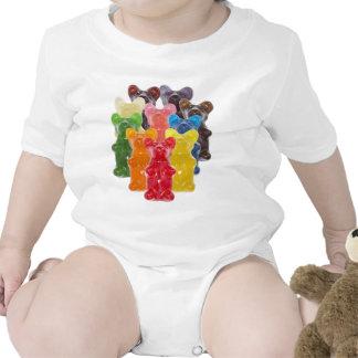 Funny Cute Gummy bear Herds Romper