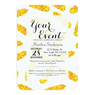 Funny Cute Hand Drawn Summer Corn on the Cob 13 Cm X 18 Cm Invitation Card