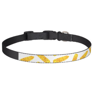 Funny Cute Hand Drawn Summer Corn on the Cob Pet Collar
