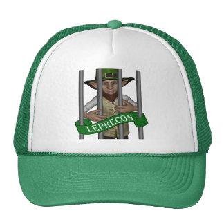Funny cute leprechaun St Patrick s day Trucker Hats