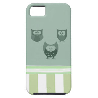 Funny cute owls stripes iPhone 5 covers