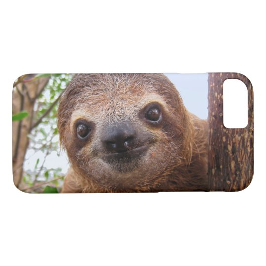 Funny Cute Pet Photo Sloth Animals iPhone 8/7