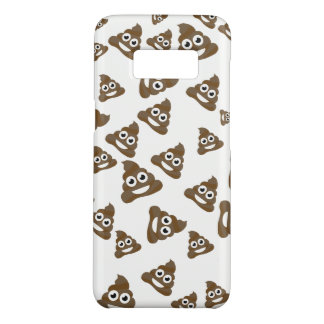 Funny Cute Poop Emoji Pattern Case-Mate Samsung Galaxy S8 Case