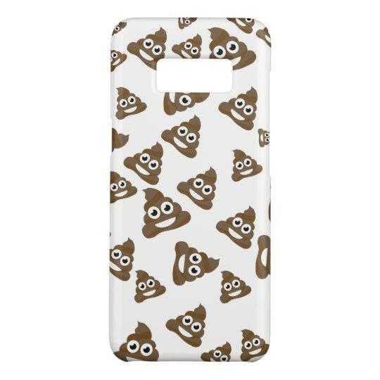 Funny Cute Poop Emoji Pattern Case-Mate Samsung Galaxy
