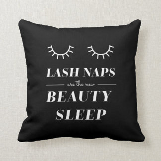 Funny Cute Quote Lash Nap Pillow