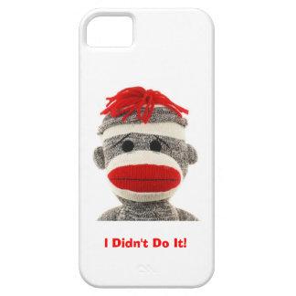 Funny & Cute  Sock Monkey  I Phone 5 case iPhone 5 Cases