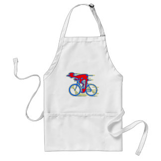 Funny Cycling Abstract Aprons