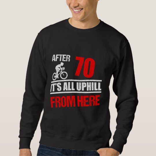 Funny Cycling Shirt 70th Birthday Tee Ideas Zazzle Co Uk