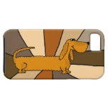 Funny Dachshund Art iPhone 5 Covers