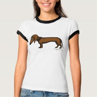 Funny dachshund t-shirt design