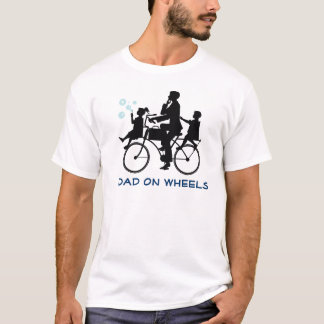 Funny Dad Biking Father's Day T-shirt