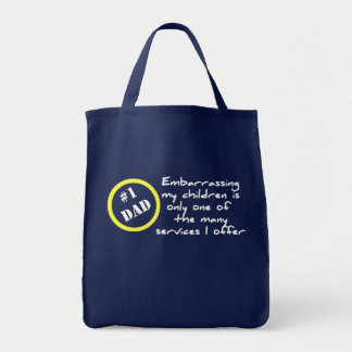 Funny Dadism, Best Dad Bag