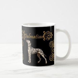 Funny Dalmatian Elegance Basic White Mug