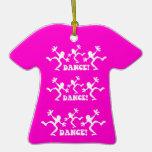 funny dance ornament