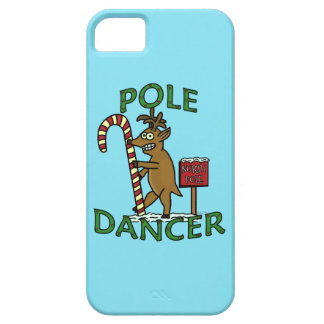 Funny Dancer Christmas Reindeer Pun Barely There iPhone 5 Case