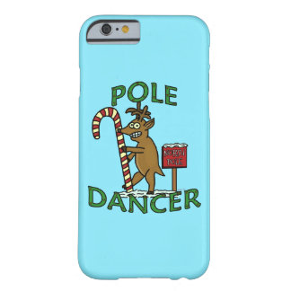 Funny Dancer Christmas Reindeer Pun Barely There iPhone 6 Case