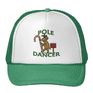 Funny Dancer Christmas Reindeer Pun Trucker Hat
