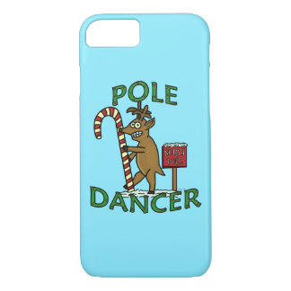 Funny Dancer Christmas Reindeer Pun iPhone 7 Case