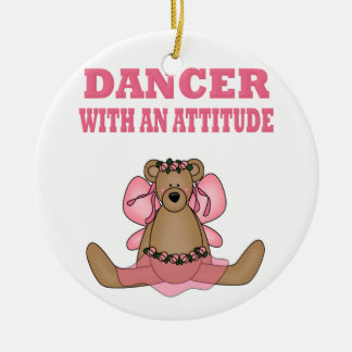 Funny Dancer With Attitude Christmas Ornament