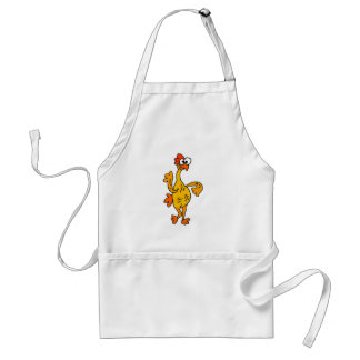 Funny Dancing Rubber Chicken Standard Apron