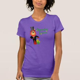 Funny Dandy Lion Ladies Shirt