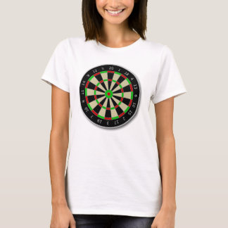 Funny dartboard game. T-Shirt