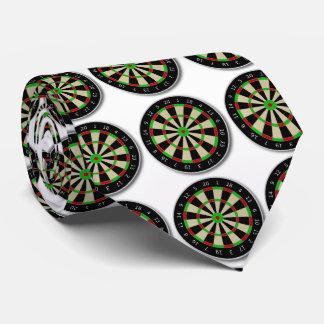 Funny dartboard game. tie