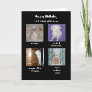 Funny Daughter In Law Niece Birthday Card