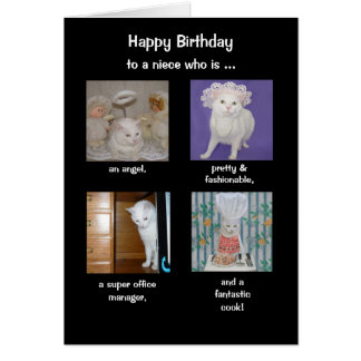 Funny Daughter/Daughter-in-law/Niece Birthday Card
