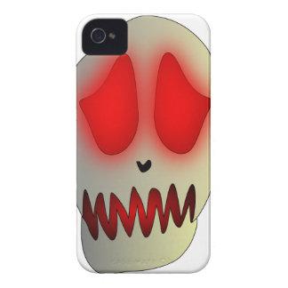 Funny Dead Evil Sad Skull iPhone 4 Case