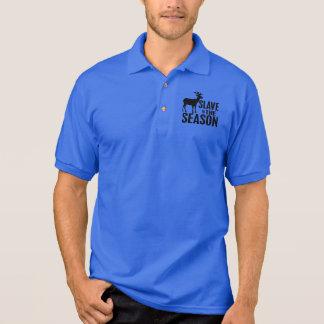 Funny Deer Hunter Polo Shirt