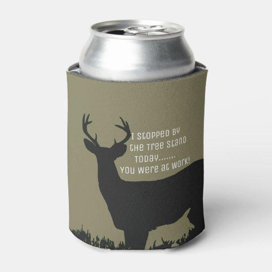Funny Deer Hunting Beer Cooler