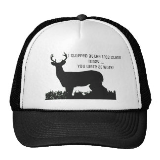Funny Deer Hunting Tree Stand Hat