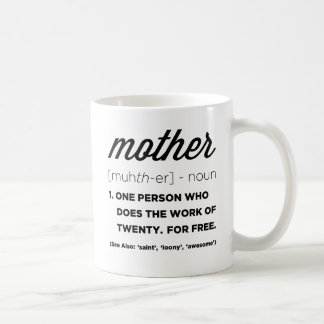 Funny Definition Of Mother Mug