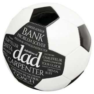Funny Definitions of Dad Job Career Tag Cloud Football