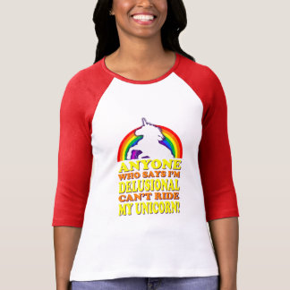 Funny Delusional Unicorn (distressed vintage) T-Shirt