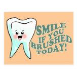 Funny Dental Hygienist Post Cards