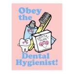 Funny Dental Hygienist Postcards