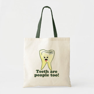 Funny Dental Hygienist Tote Bag