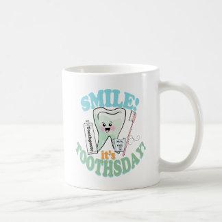 Funny Dentist Dental Hygienist Basic White Mug