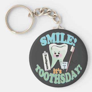 Funny Dentist Dental Hygienist Key Chain