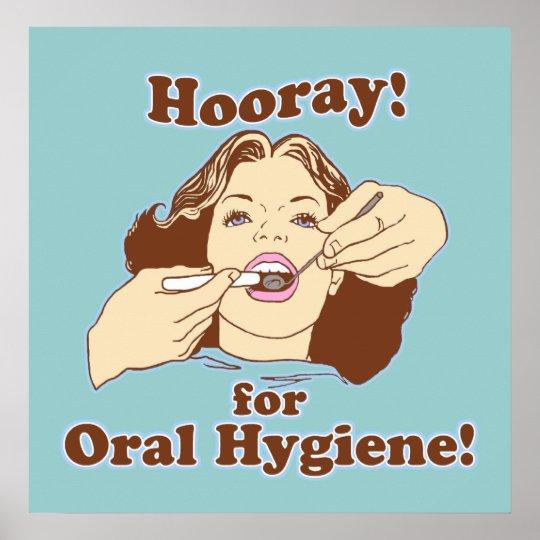 Funny Dentist Dental Office Poster