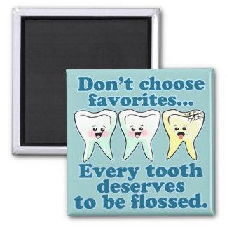Funny Dentist Magnet