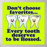 Funny Dentist Office Artwork Print