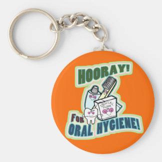 Funny Dentist or Hygienist Key Chain
