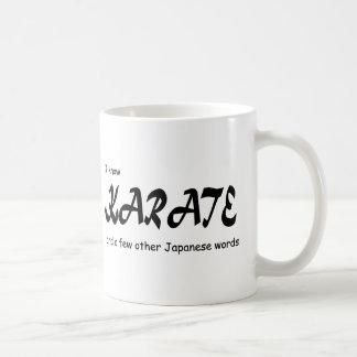 Funny Design. I know Karate + other Japanese Words Coffee Mug