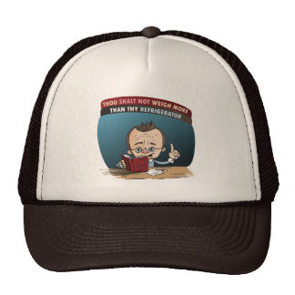 Funny Diet Losing Weight Mesh Hat