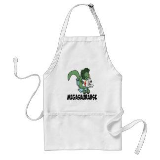 Funny dinosaur standard apron