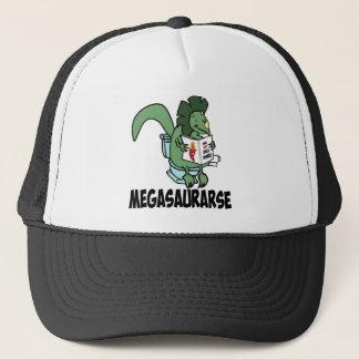 Funny dinosaur trucker hat